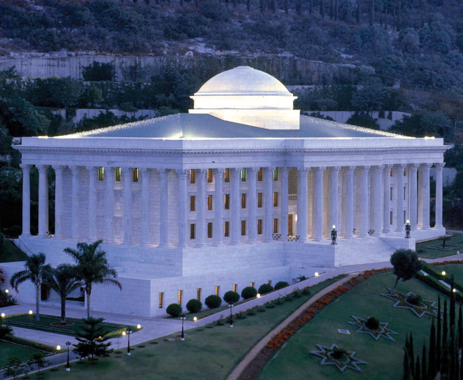 Bahai Faith Seat-Universal-House-of-Justice-Mount-Carmel