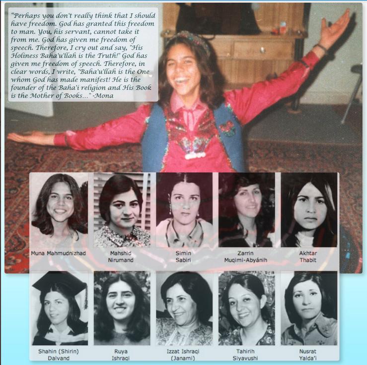 9 Bahá'í Women Executed In Iran June 18 1983